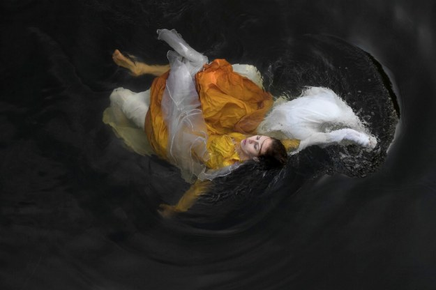 Wreckage, a work by Nita Bowerman, battles frigid waters, tide changes, jellyfish, underwater visibility and pollution.