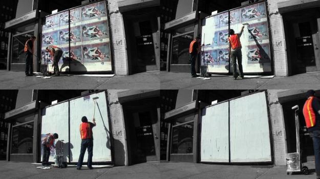 on corporate graffiti